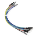 Jumper Wires Premium 6  M/M - 20 AWG 10 Pack