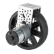 Standard Gearmotor - 101 RPM 3-12V