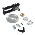 Channel Mount Gearbox Kit - Continuous Rotation 7:1 Ratio