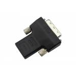 DVI-D 24+1 Pin Male to HDMI Female Converter