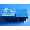 Mini 5V DC Power Relay SRD-5VDC-SL-C SONGLE